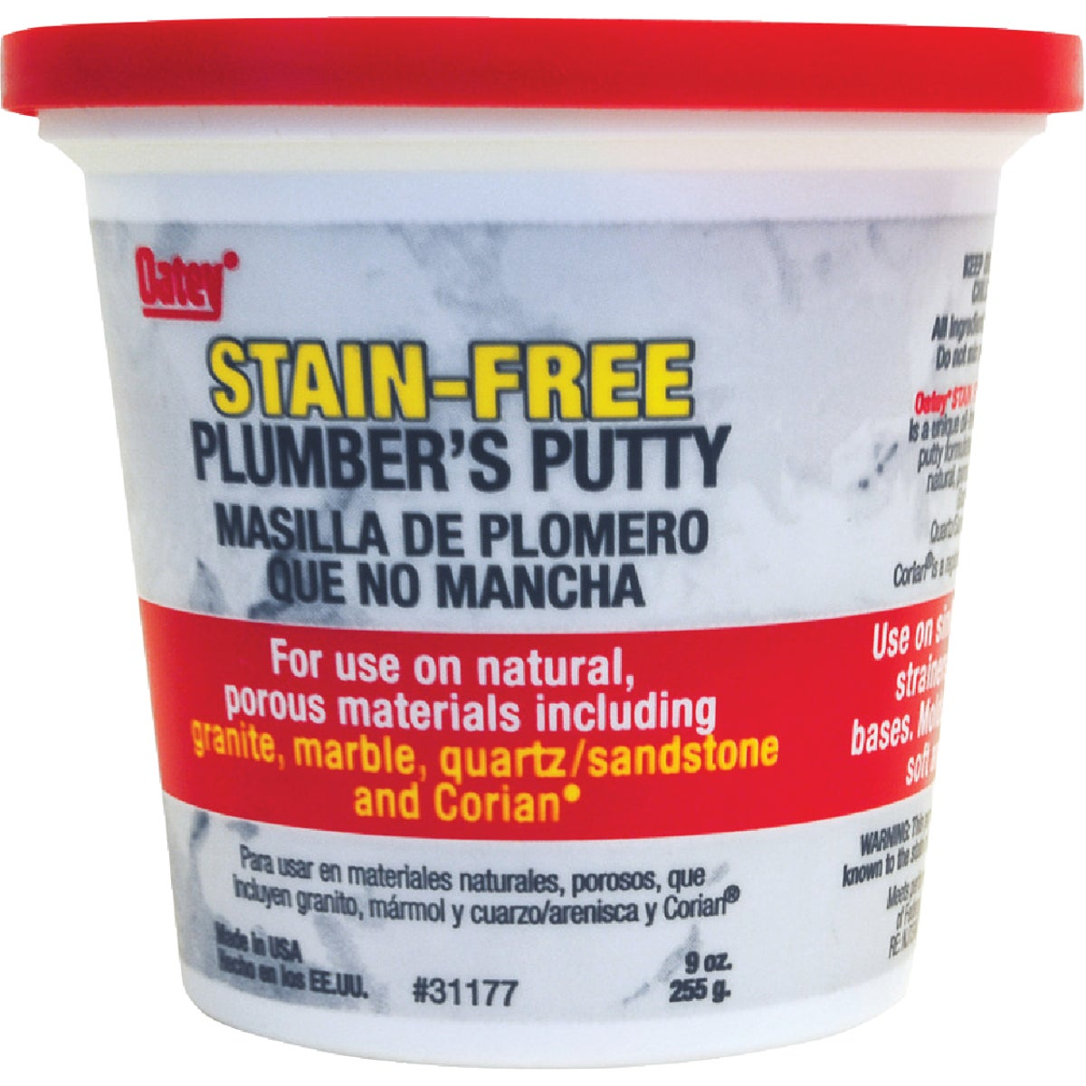 OIL-FREE PLUMBERS PUTTY