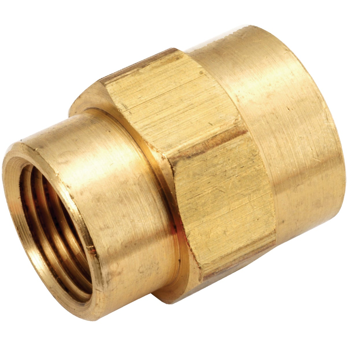 1/2X3/8 BRASS REDUC CPLN - 756119-0806 by Anderson Metals Corp