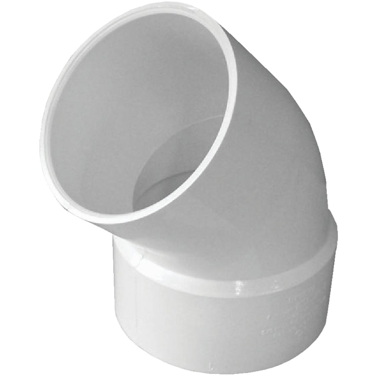"3"" 45 S/D PVC ST. ELBOW - 42730 by Genova Inc"