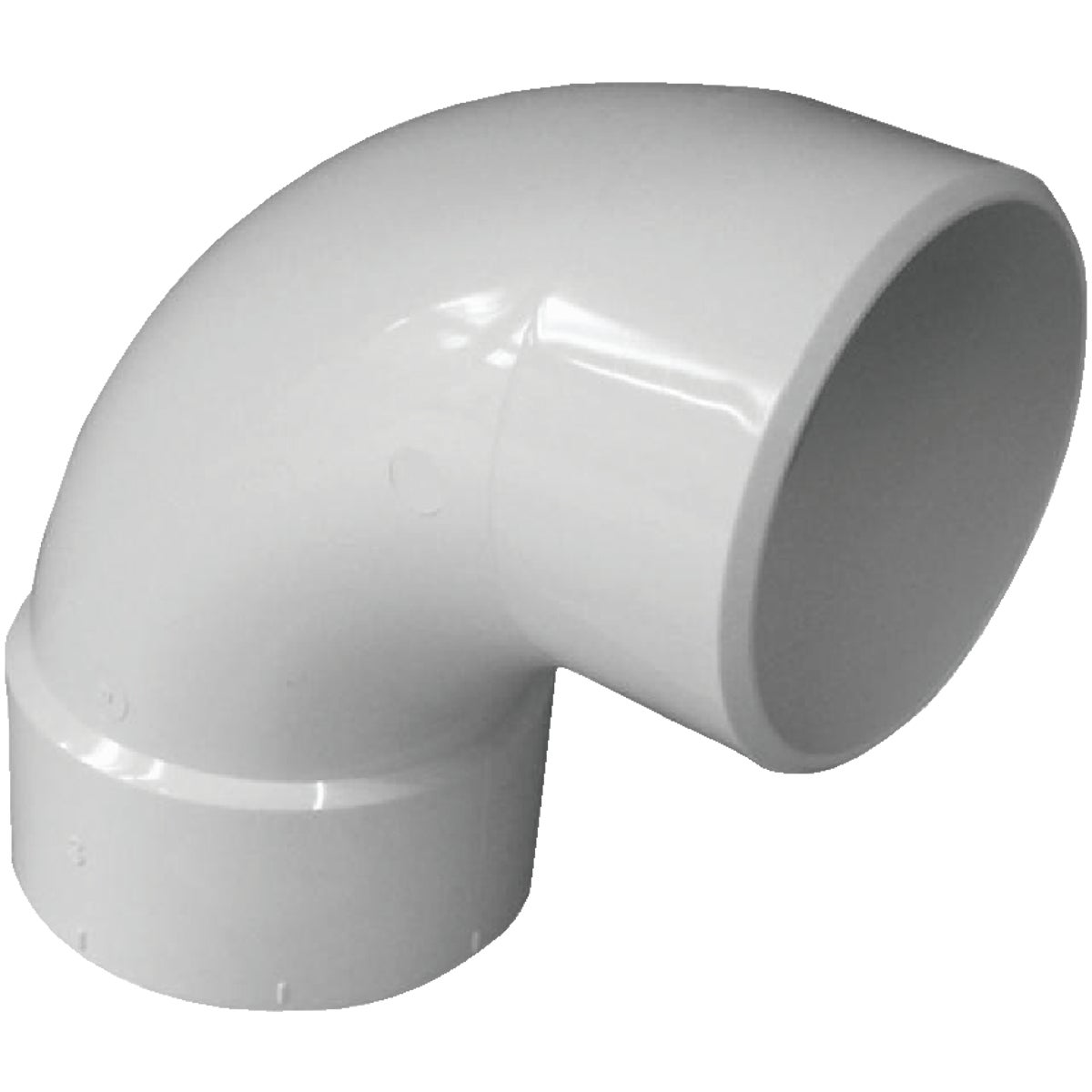 "3"" 90 S/D PVC ST ELBOW - 42936 by Genova Inc"