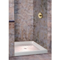 Mustee, E. L. WHITE SHOWER FLOOR 3232M