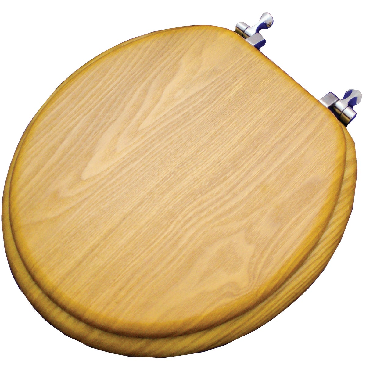 OAK VENEER ROUND SEAT - WMS-17-V by Do it Best
