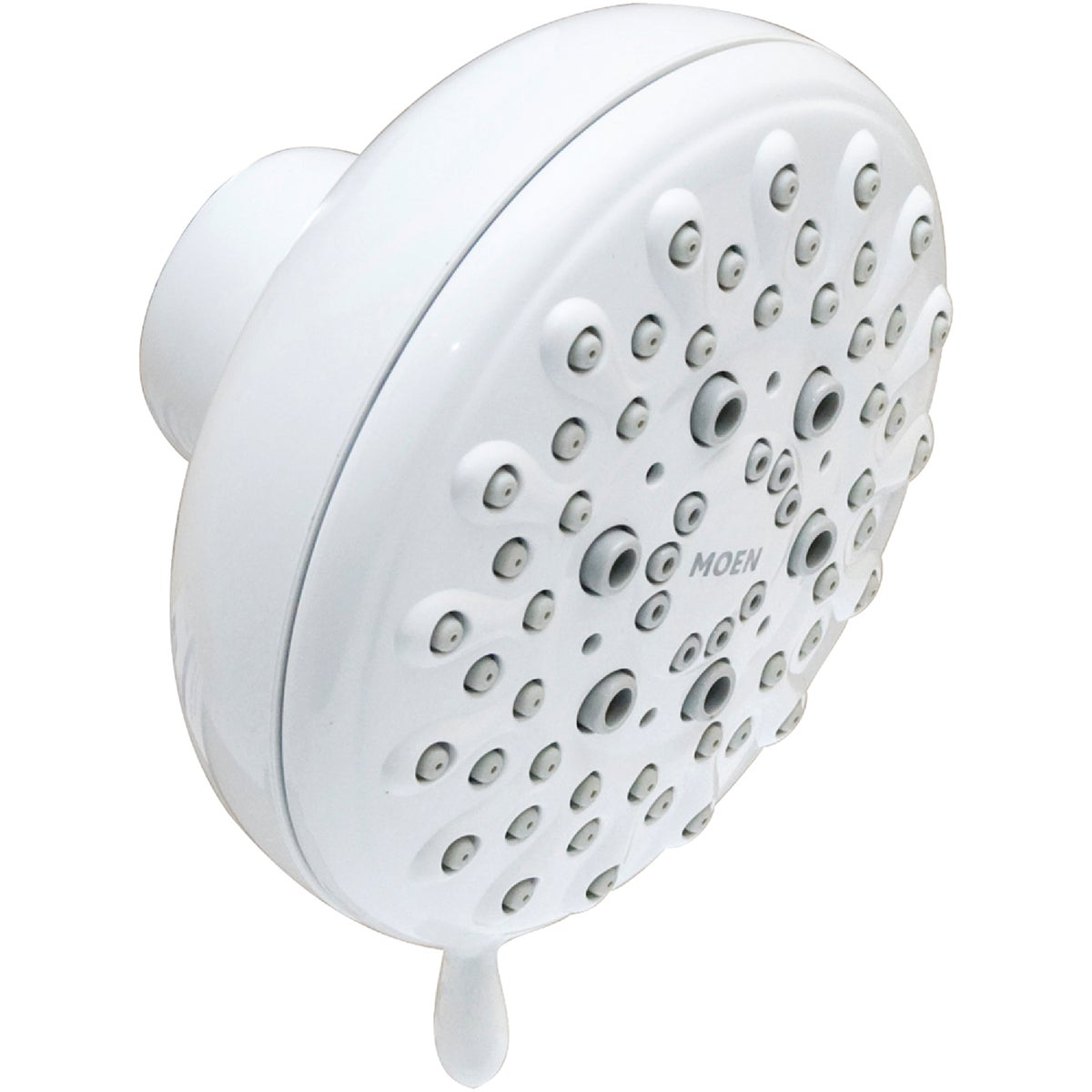 WHITE 5-SET SHOWERHEAD - 23016W by Moen Inc