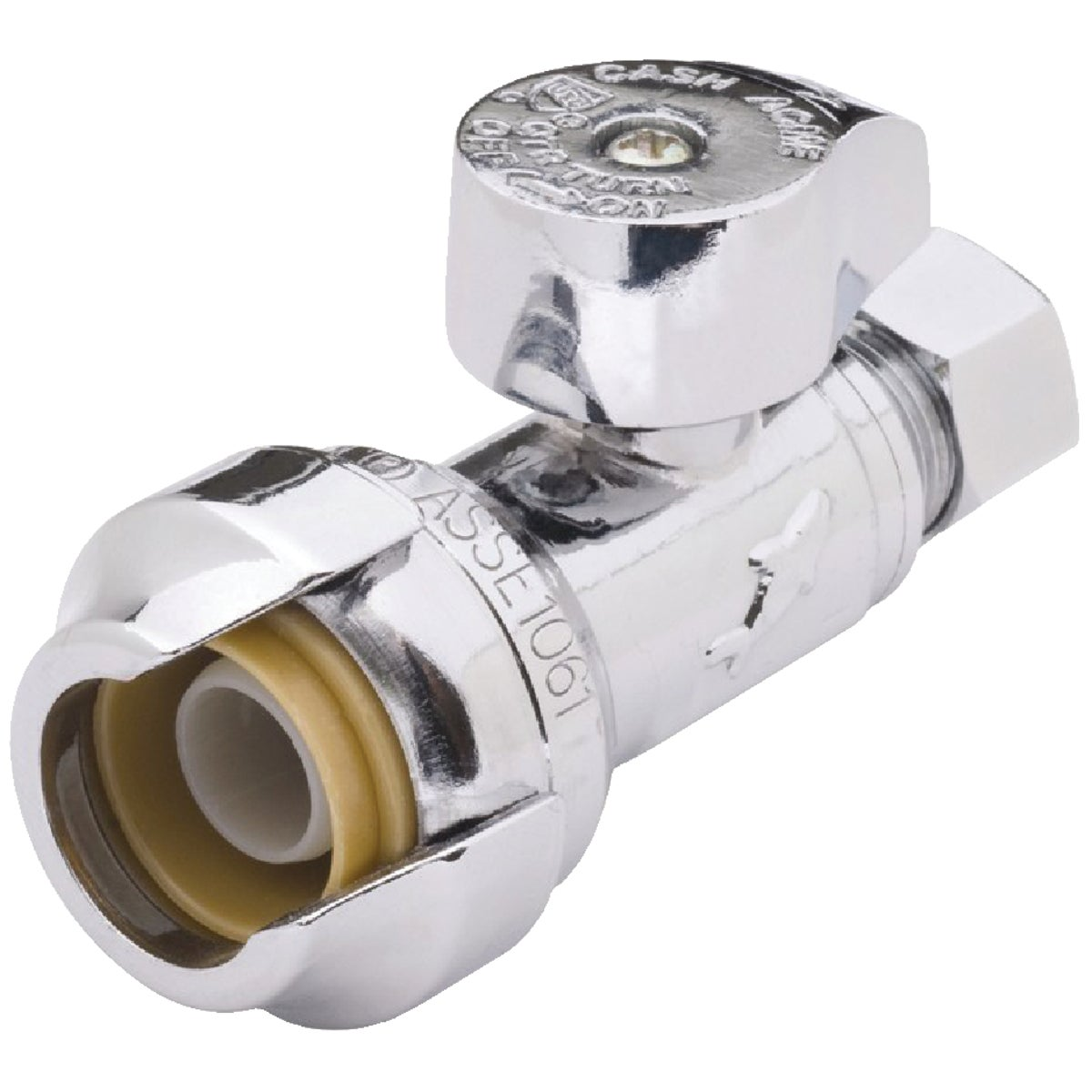 1/2X3/8 STR STOP VALVE - 23037-0000LF by Cash Acme