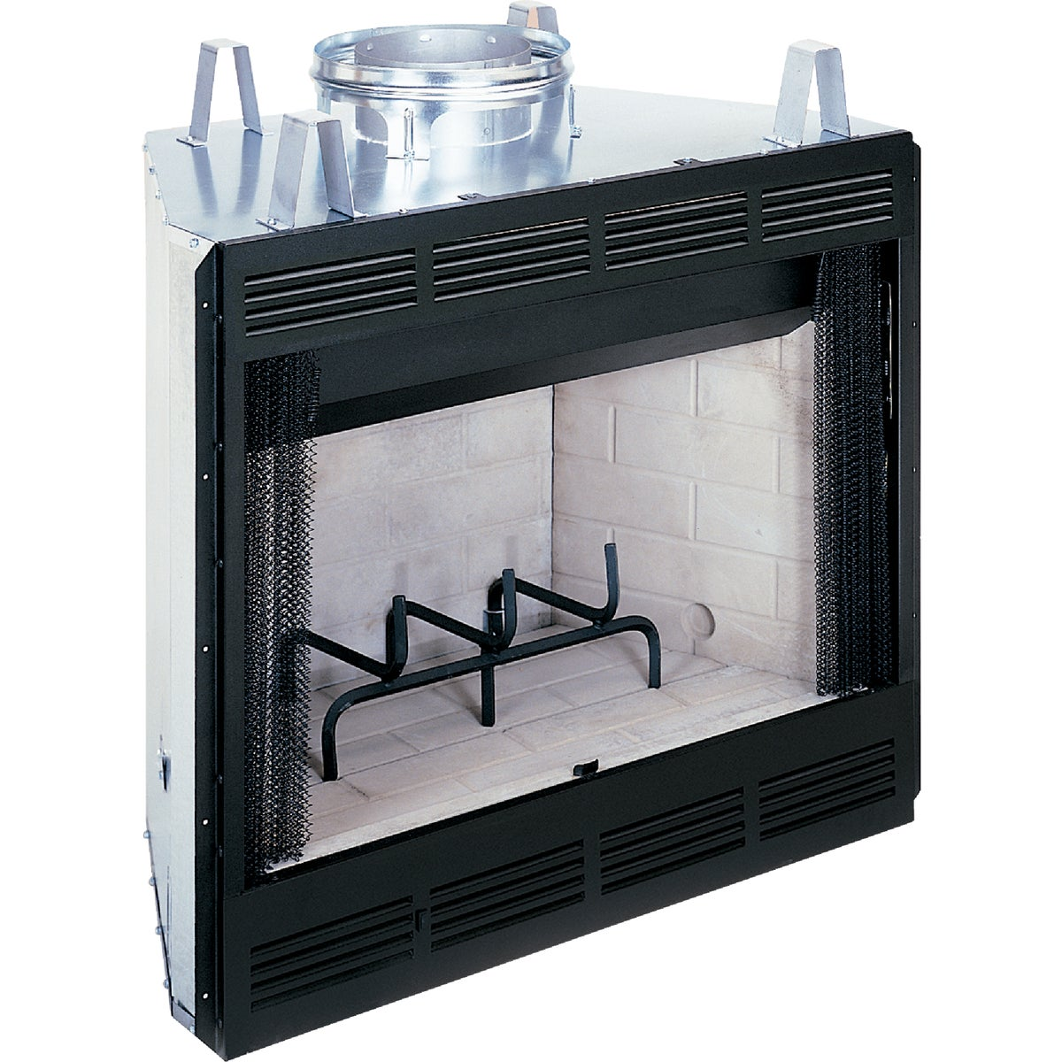 "36"" WOODBURNING FIREBOX - B36L-M by Fmi Products Llc"