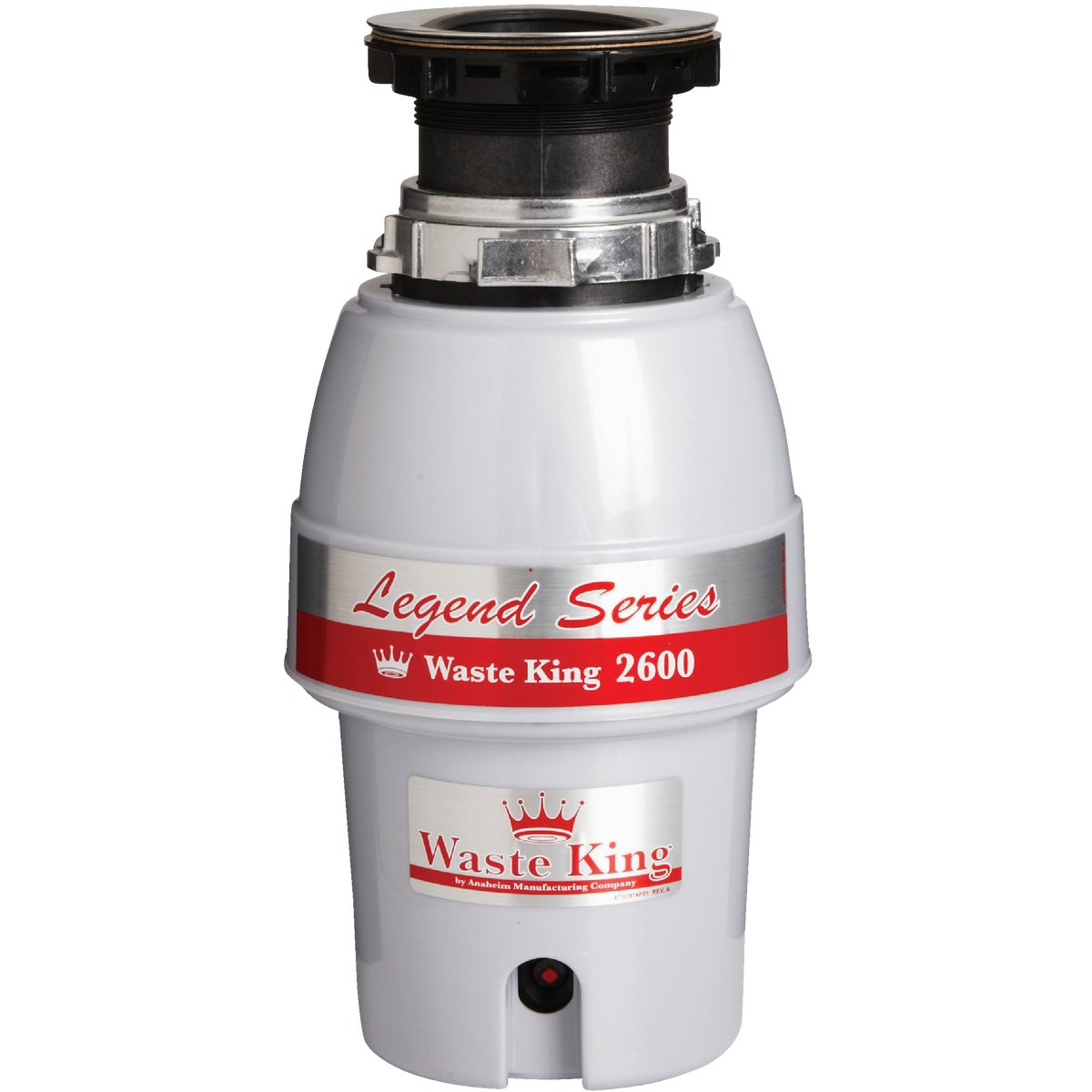 1/2HP DISPOSER - L-2600 by Waste King