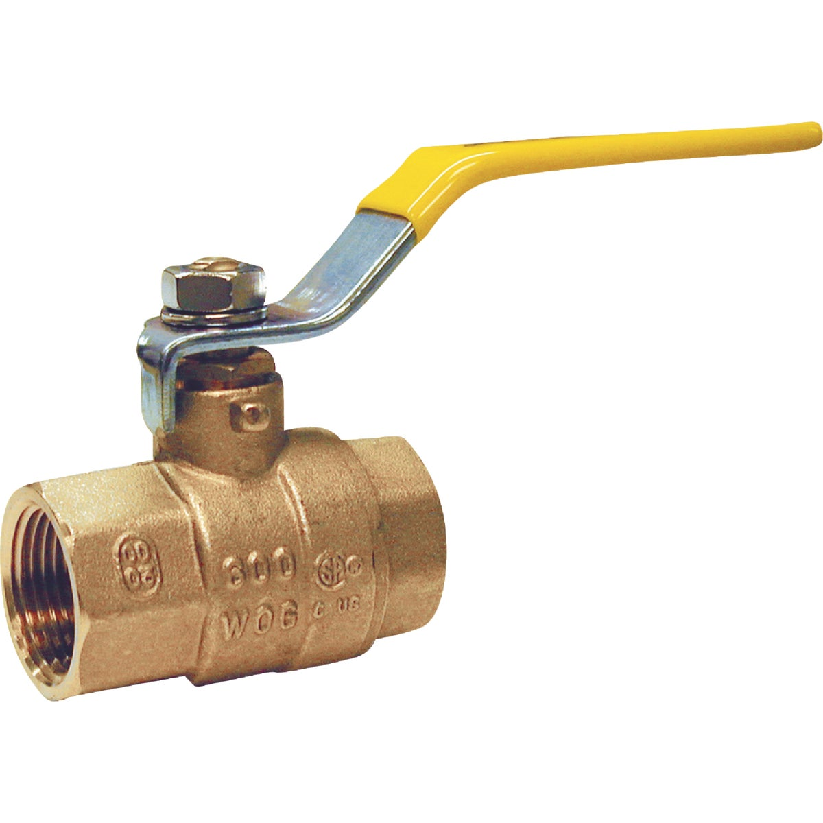 Proline 107-828NL IPS Low Lead Gland Pack Ball Valve, 2