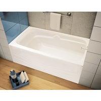 White Rh Soaking Tub