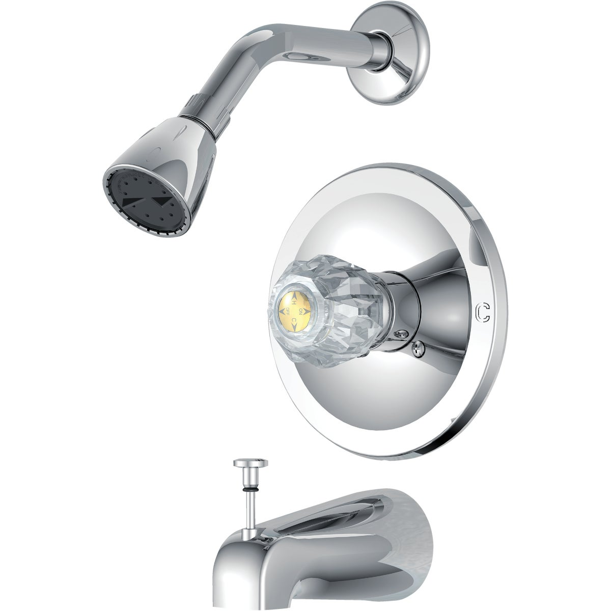 CHR TUB/SHOWER FAUCET - F1010500CP-JPA1 by Globe Union