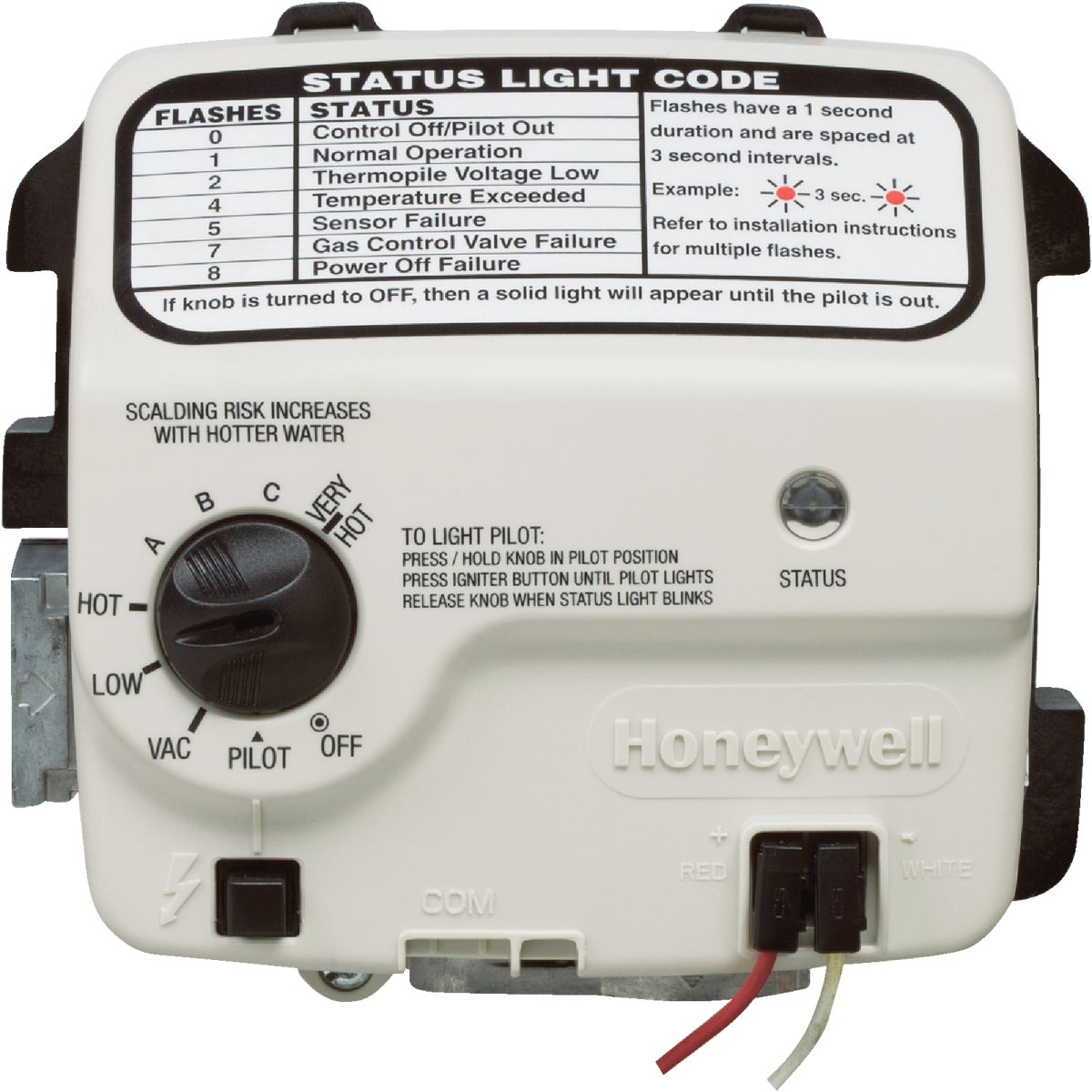 HONEYW NAT GAS CONTROL - 9007884 by Reliance State Ind