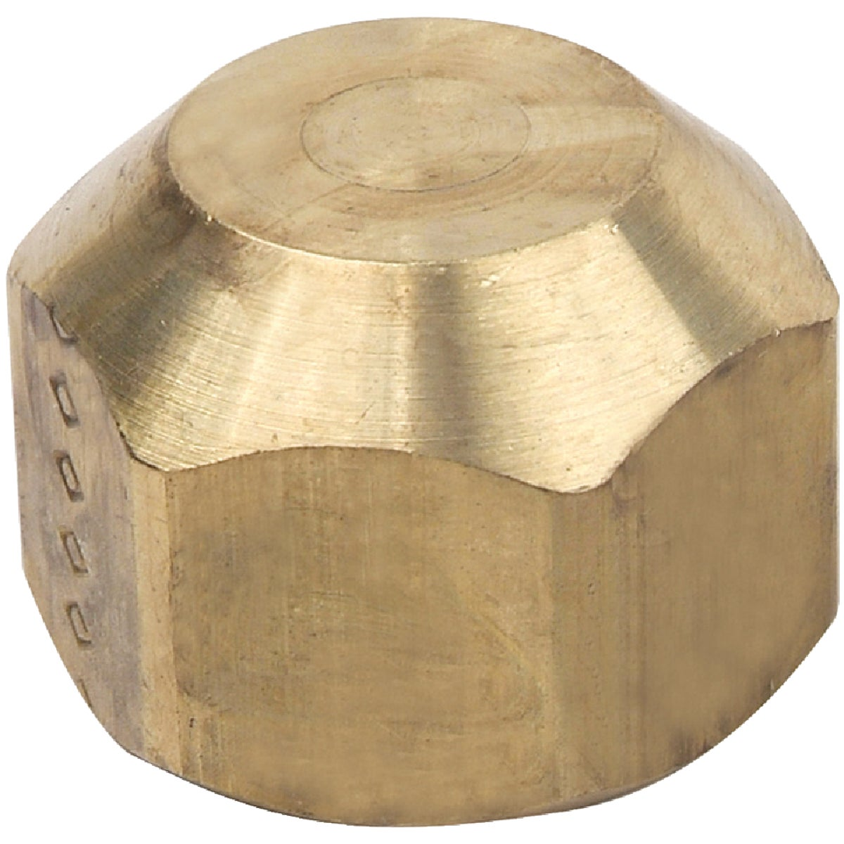 "5/8"" OD GAS FLARE CAP - M40-10 P by Brass Craft"