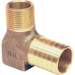 Low Lead Brass Barbed Elbow Hydrant
