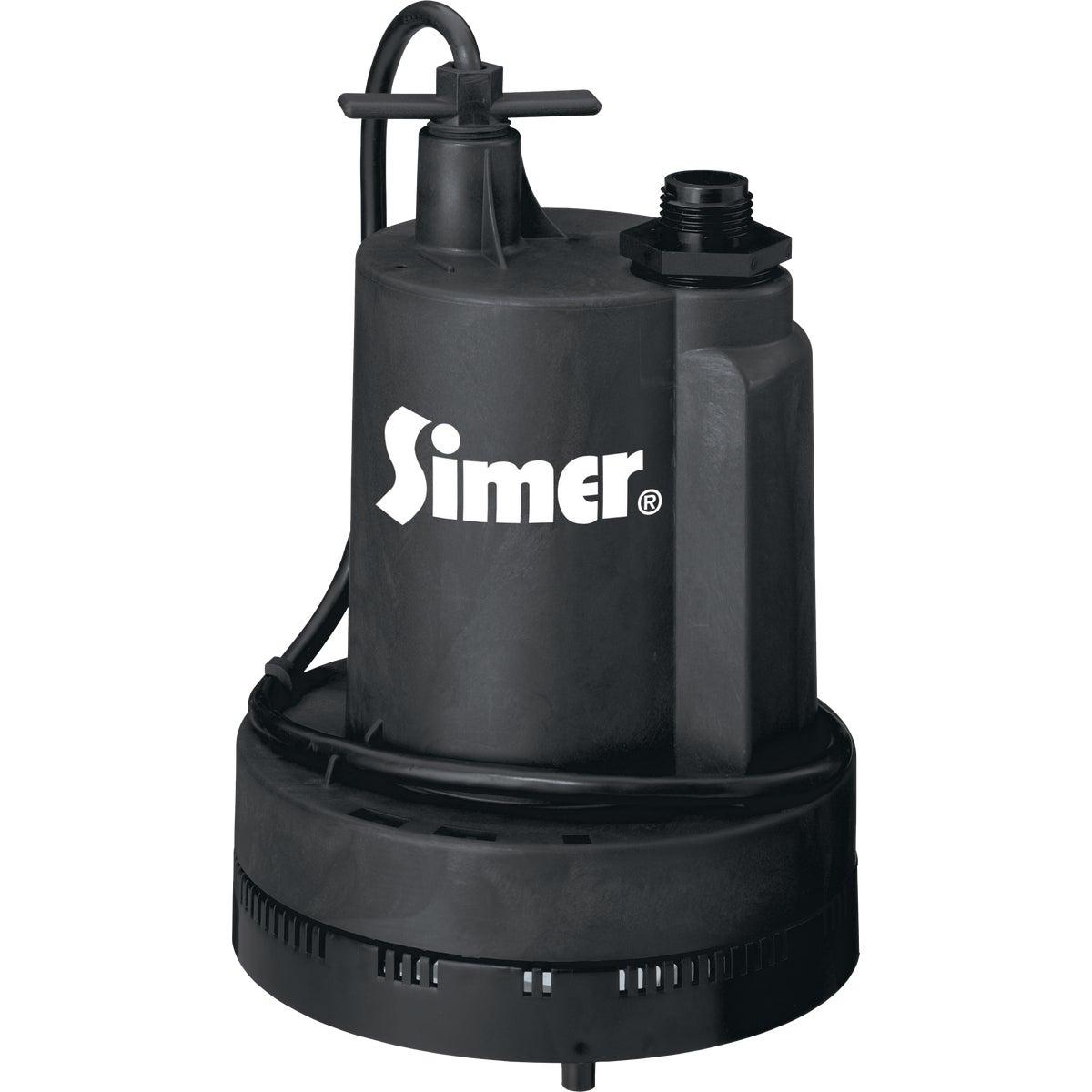 PUMP 1/4HP UTY - 2305 by Simer Flotec Omni