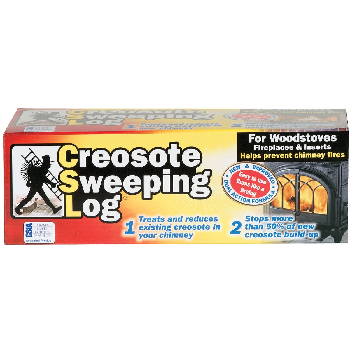 CREOSOTE SWEEPING LOG - SL824-12 by Joseph Enterprises