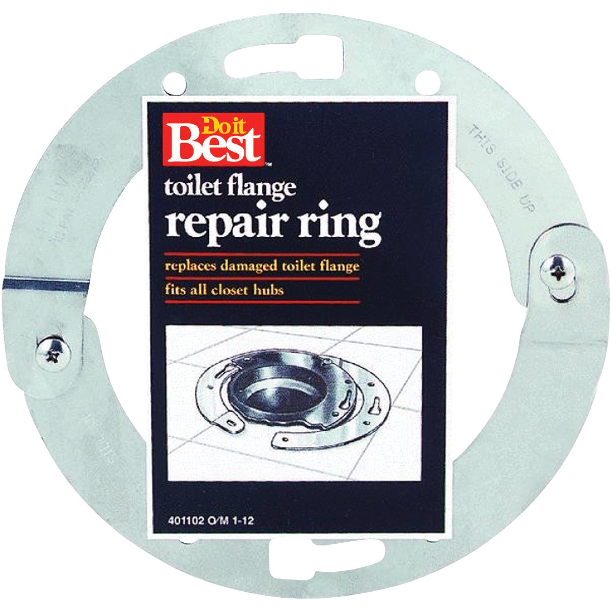 TOILET FLANG REPAIR RING - 014712 by Wm H Harvey Co
