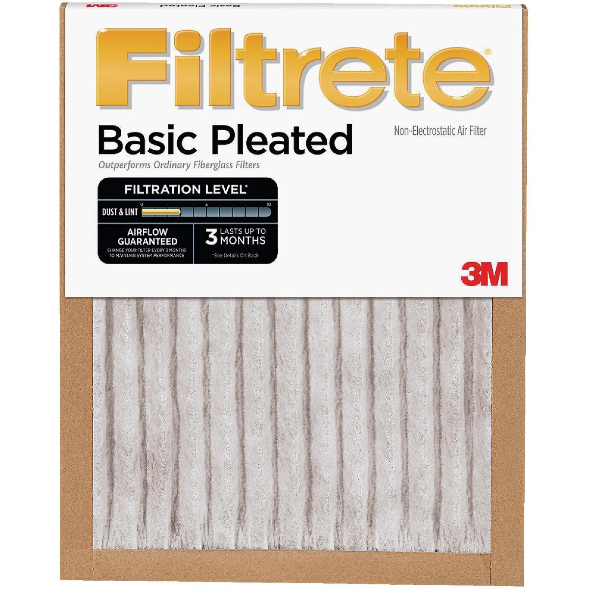 3M Filtrete 12 In. x 12 In. x 1 In. Basic Pleated 250 MPR Furnace Filter