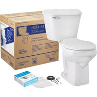 Mansfield Pro-Fit 4 Complete Toilet, 117CTK