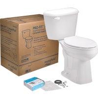 Mansfield Pro-Fit 3 HET Complete Toilet, 4137CTK BIS
