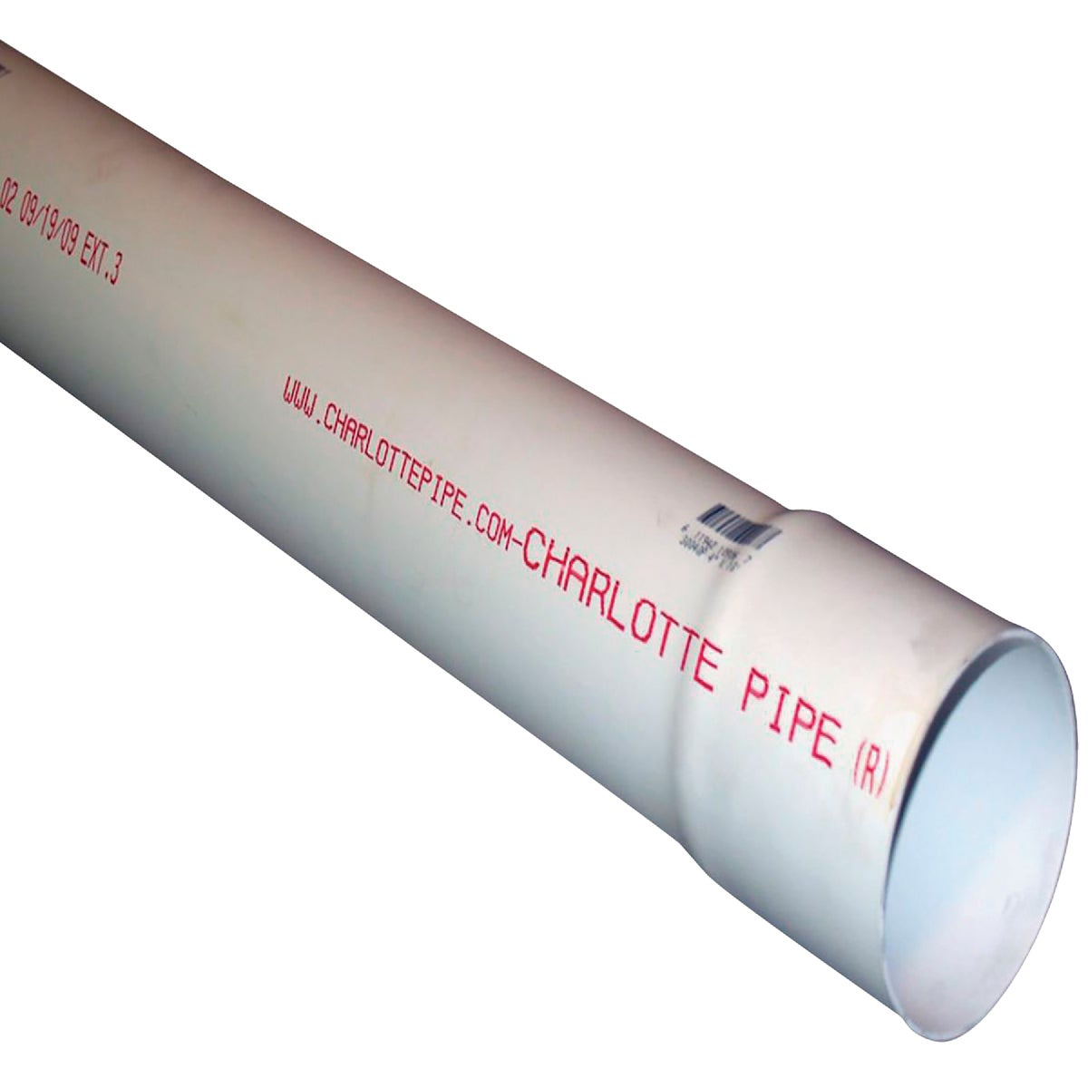 3X10' D&S SOLID PVC PIPE