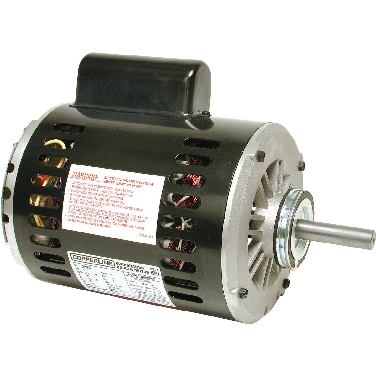 1 HP 2 SPEED MOTOR 115V