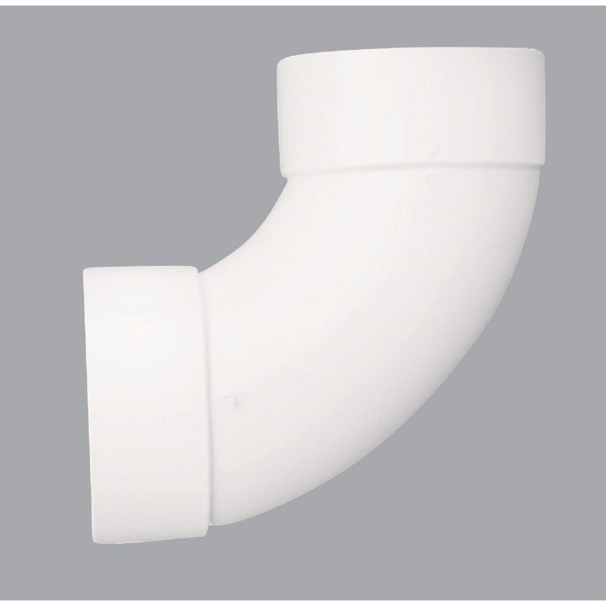"""3"""" 90D S&D PVC SAN ELBOW - 42830 by Genova Inc"""