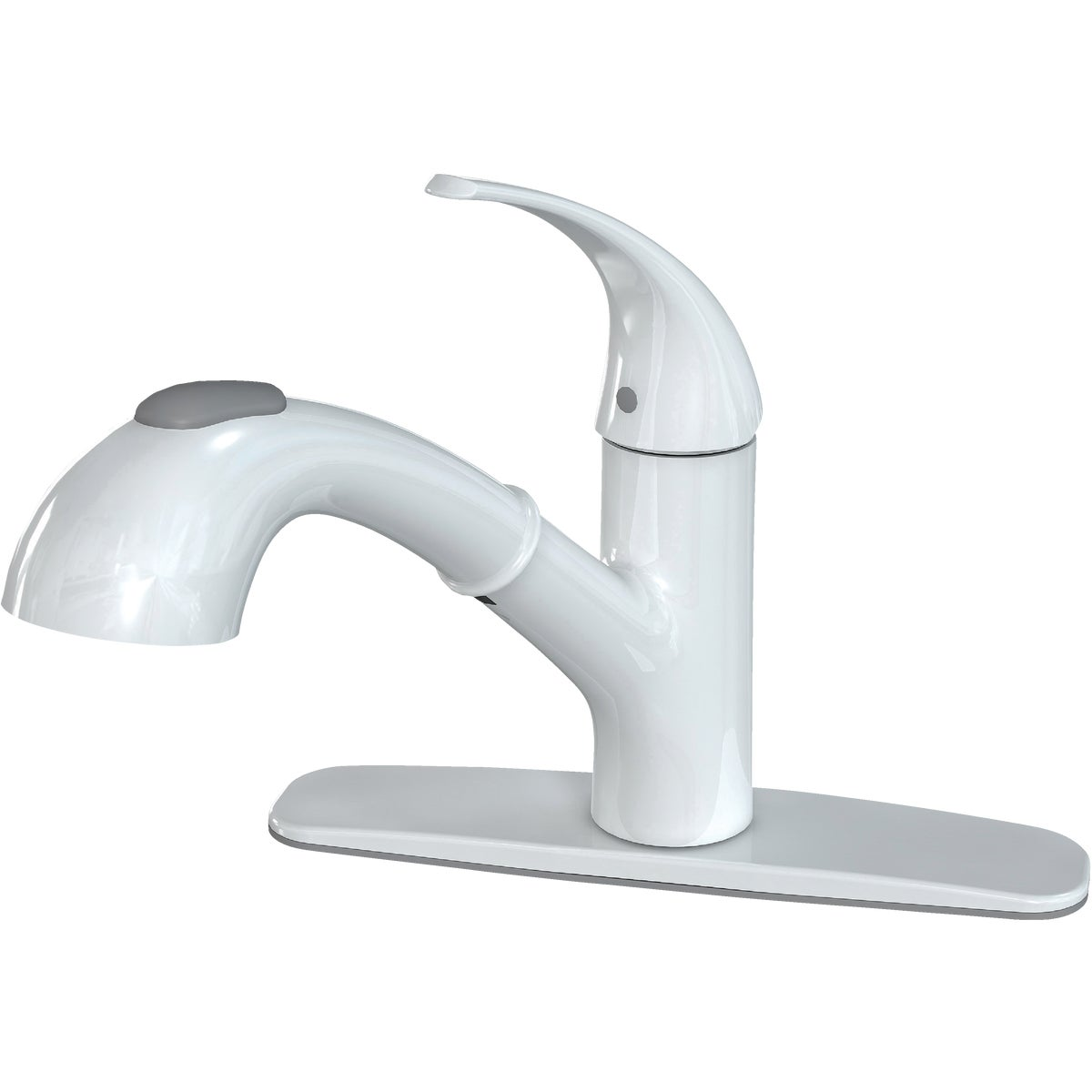 WH PULLOUT KITCHN FAUCET - FP4A4079WH by Globe Union