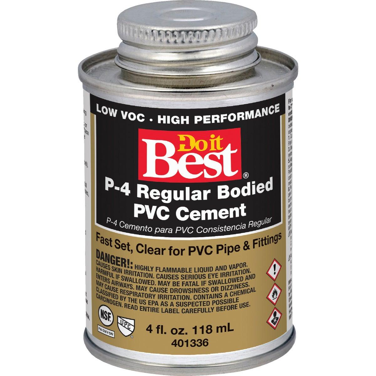 1/4 PINT PVC CEMENT