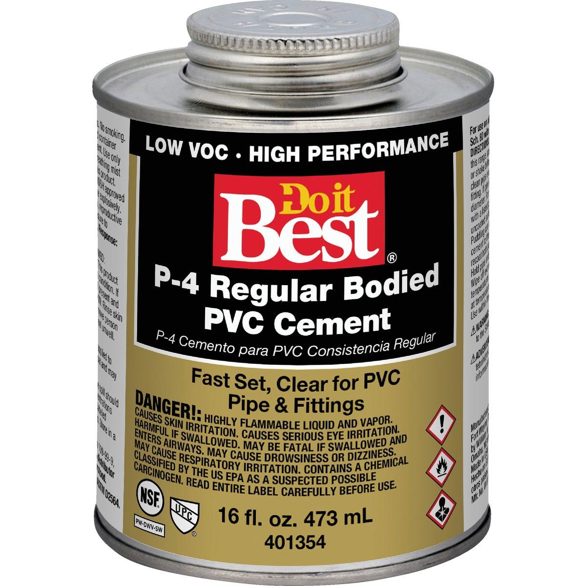 William H. Harvey PINT PVC CEMENT 18129