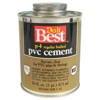 William H. Harvey PINT PVC CEMENT 18129
