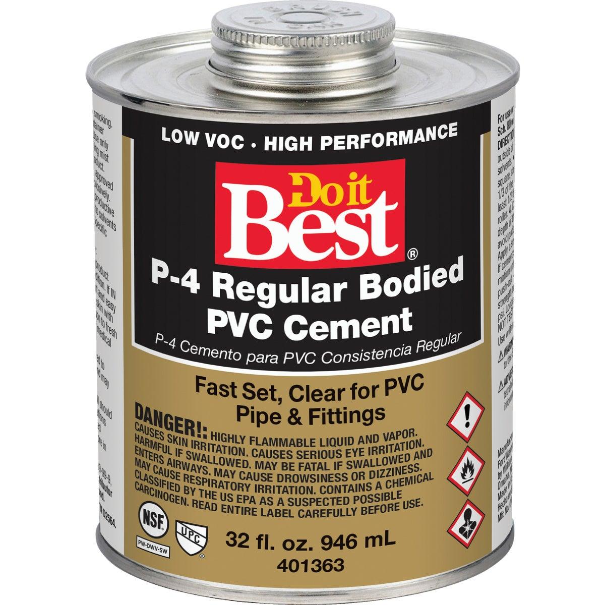 QUART PVC CEMENT