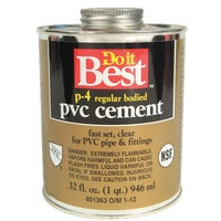 William H. Harvey QUART PVC CEMENT 18139