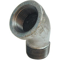 45 degrees Galvanized Street Elbow, 510-500HC
