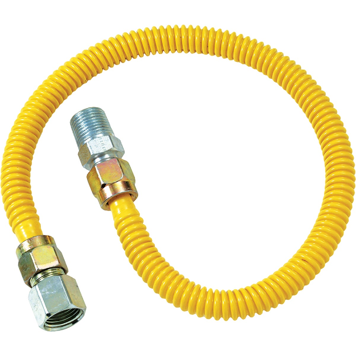 1/2X18 GAS CONNECTOR - CSSD54-18P by Brass Craft