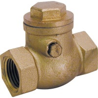 Low Lead Brass Swing Check Valves, 101-008NL