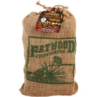 8Lb Fatwood Burlap Bag