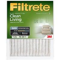 3M Filtrete Clean Living Furnace Filter, 522DC-6