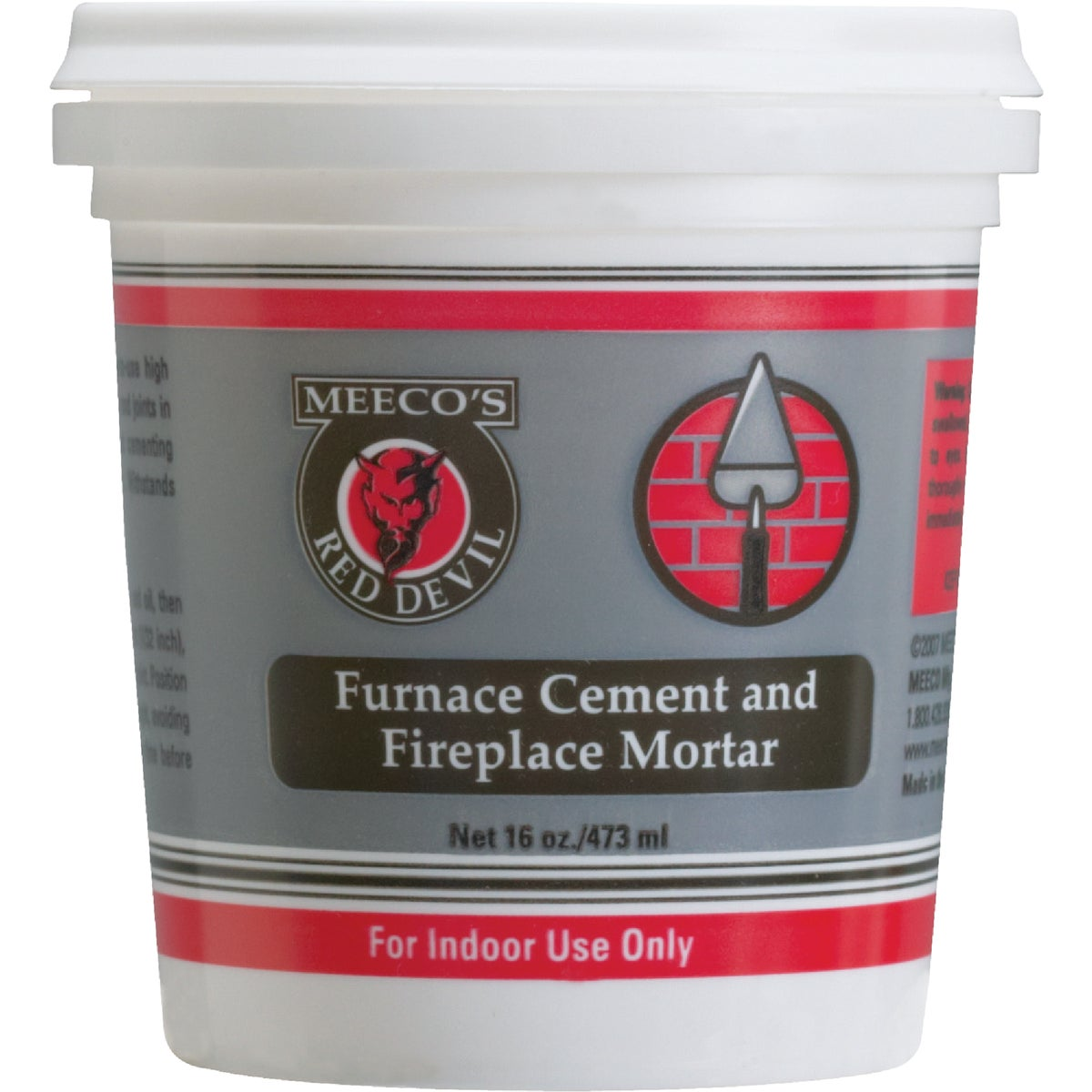 PT FURNACE CEMENT - 1353 by Meeco Mfg