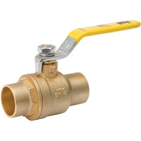 Brass Full Port Packing Gland Ball Valve, 107-848NL