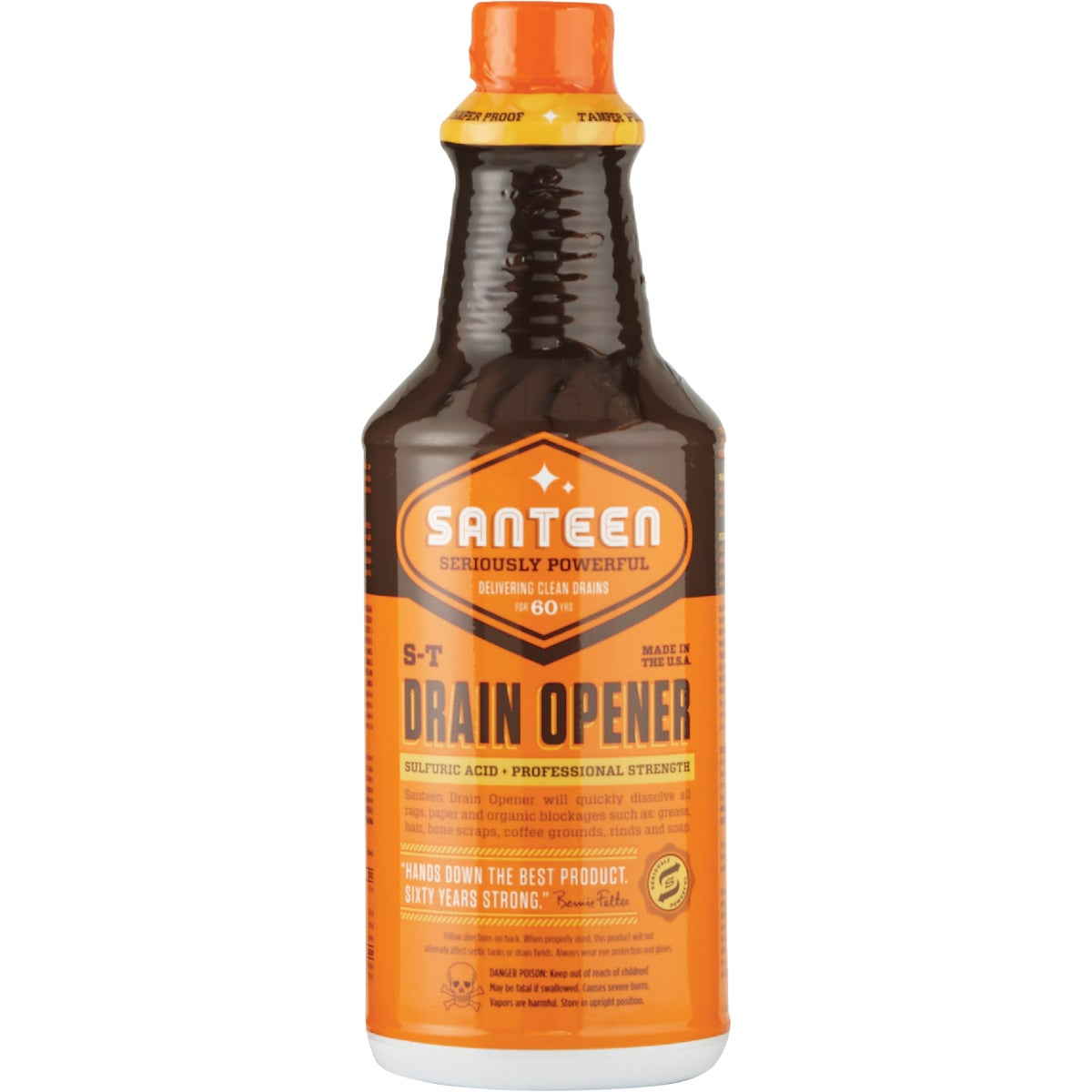 32OZ S-T DRAIN OPENER - 0200 by Santeen Products