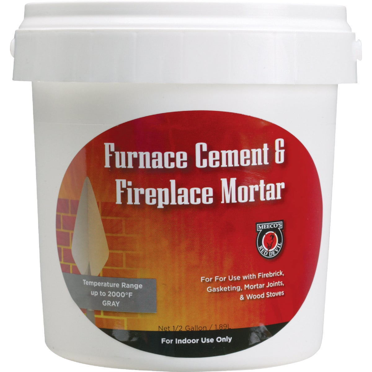 Meeco Mfg. Co., Inc. 1/2GAL FURNACE CEMENT 1355
