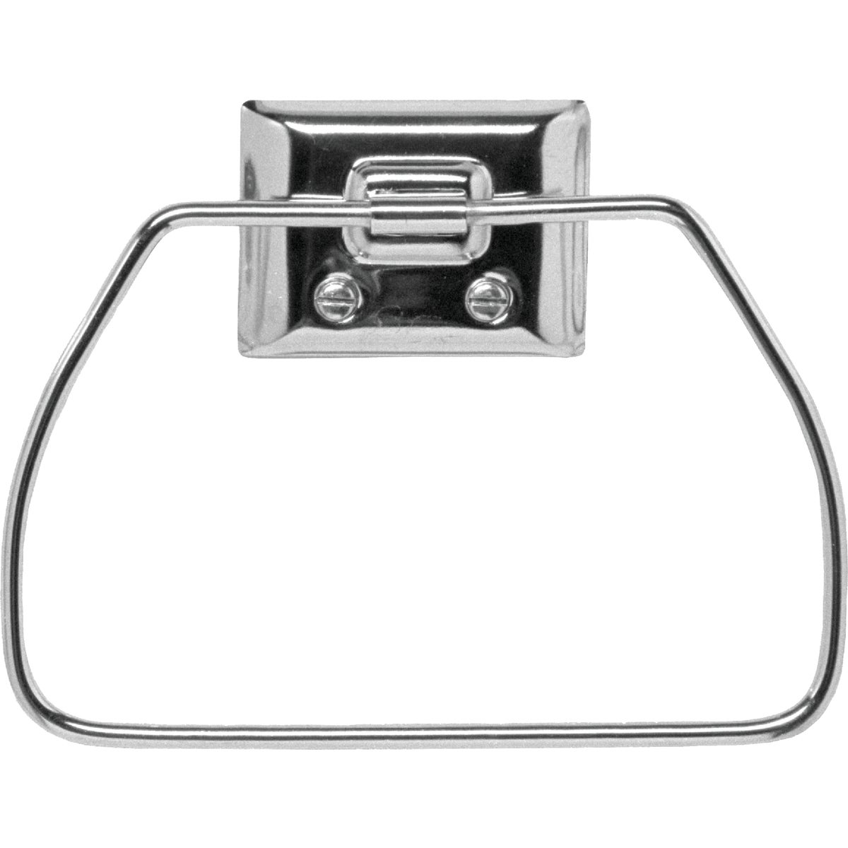 CHROME TOWEL RING - 38100 by Decko Bath