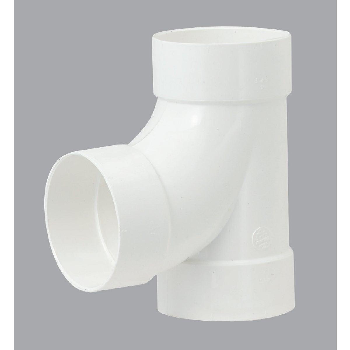 "6"" S&D PVC SANITARY TEE"