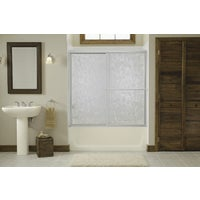 Sterling SILVER BY-PASS TUB DOOR 5930-56S