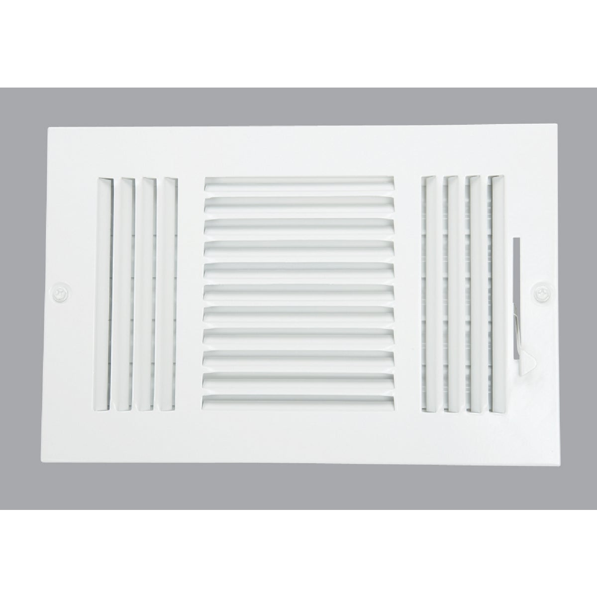 Home Impressions 3-Way Wall Register, 3SW1006WH-B