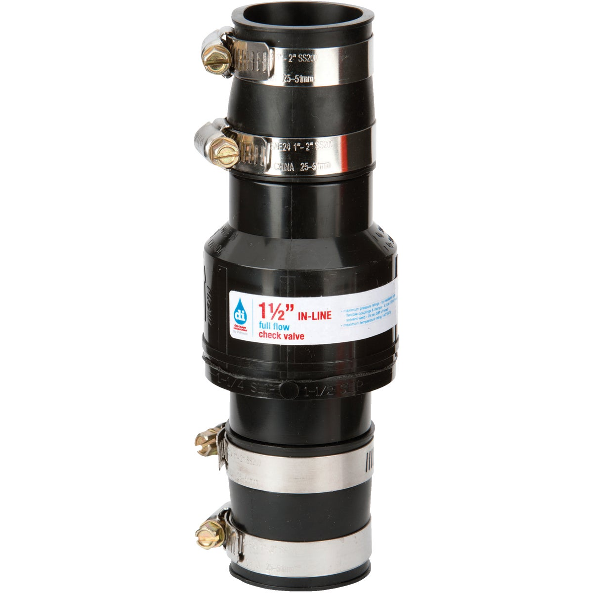 "1-1/2"" CHECK VALVE - 2260/150DRS by Drainage Industries"