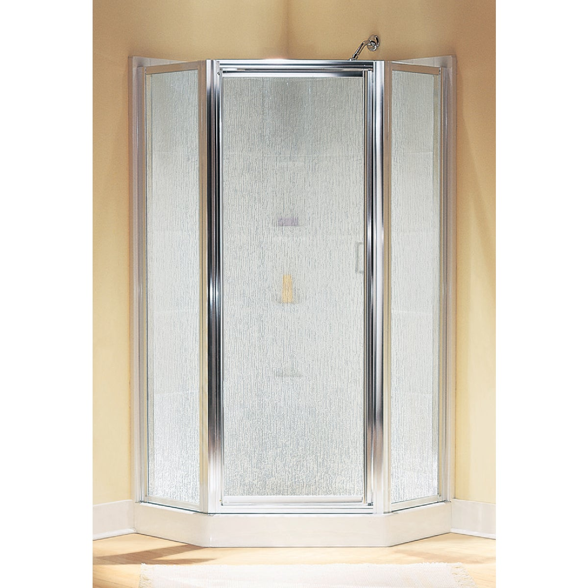 SILVER NEO SHOWER DOOR - SP2276A-38S by Sterling Doors