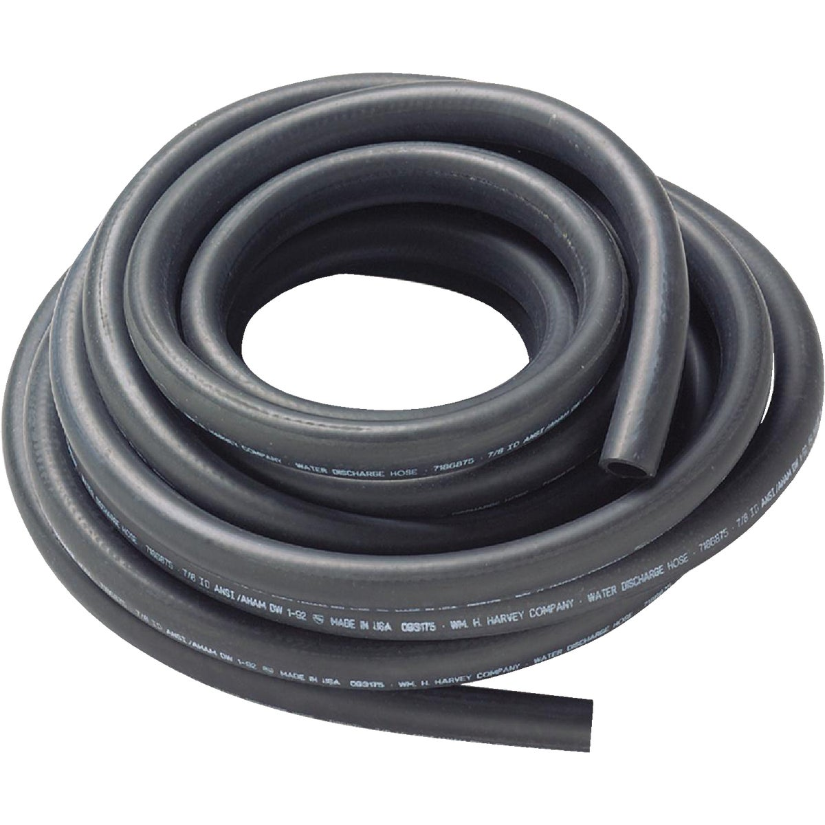 "7/8""X50' DISHWASHER HOSE - 093175 by Wm H Harvey Co"
