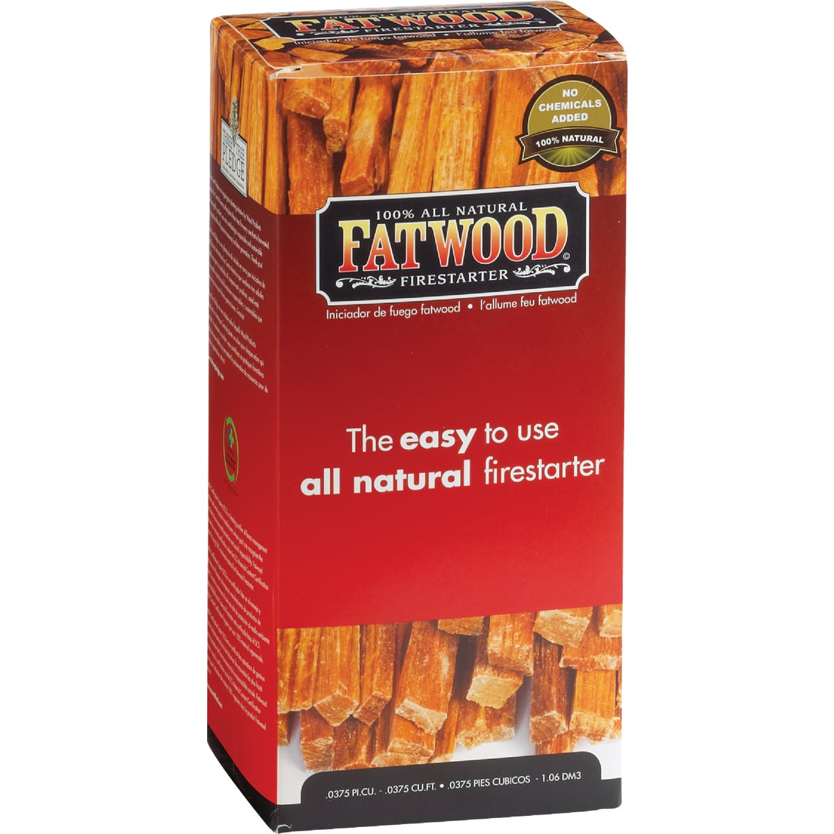 1.5LB FATWOD FIRESTARTER - 9983 by Wood Products Intl