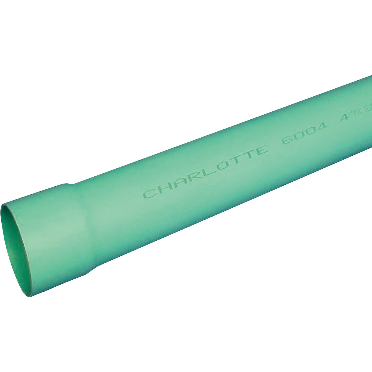 "6""X10'D&S SOLID PVC PIPE - 40060 by Genova Inc"