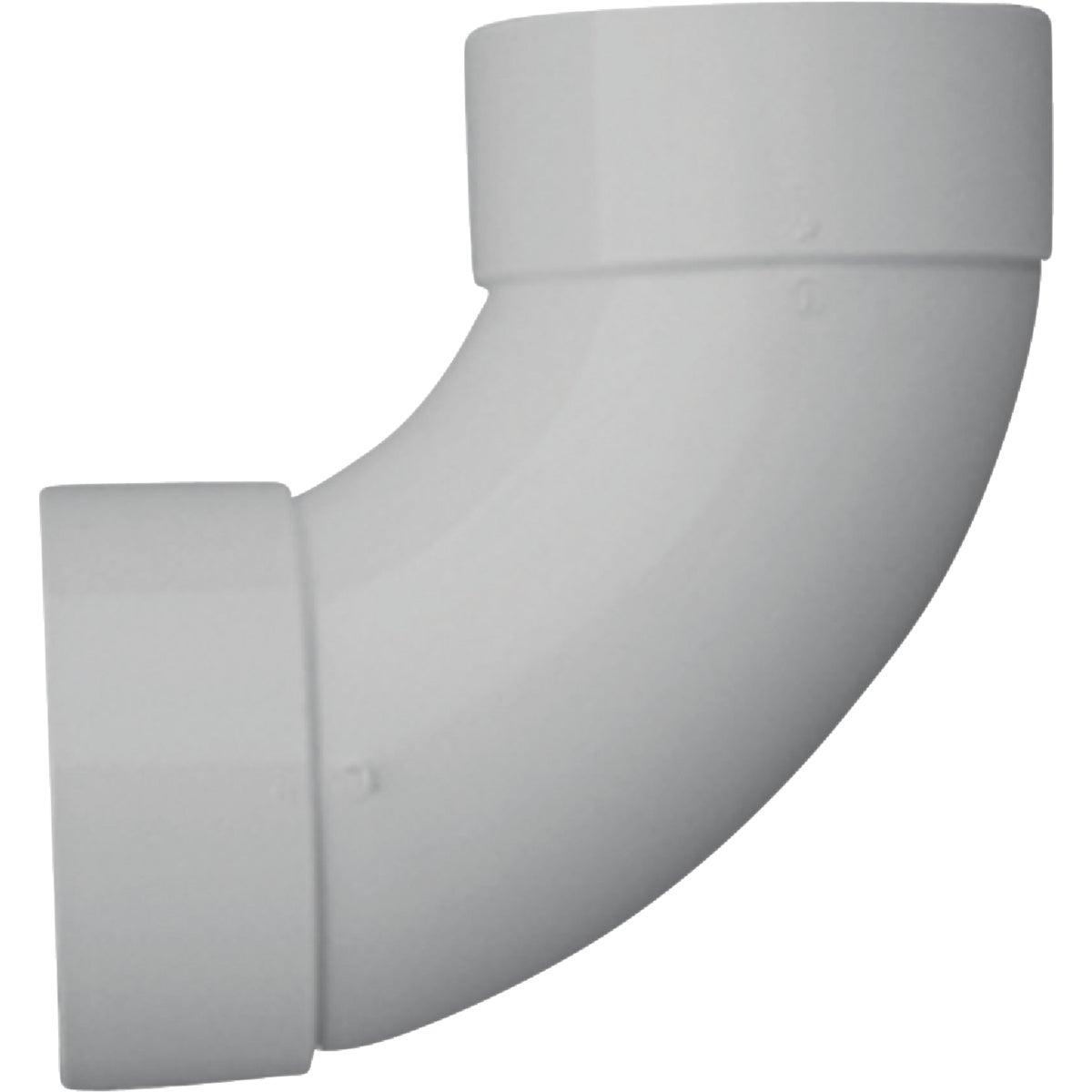 "6"" 90D S&D PVC SAN ELBOW"